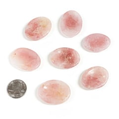 Rose Quartz Worry Stone
