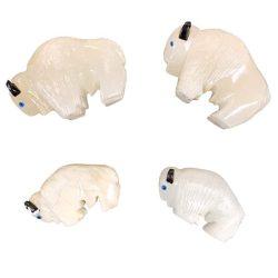White Buffalo carved onyx