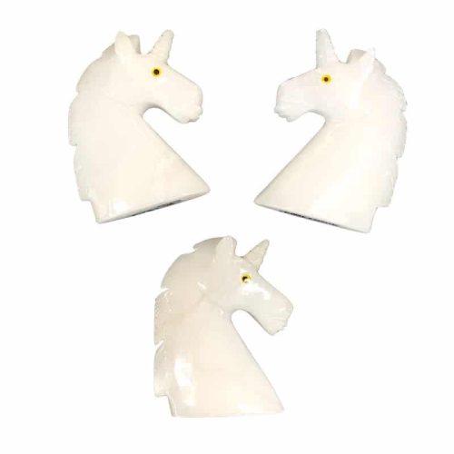 Gemstone Carved Unicorn