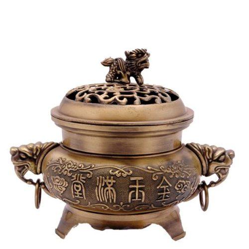 Incense Burner Fu Temple