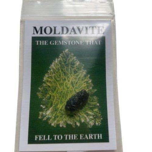 Moldavite in the bag