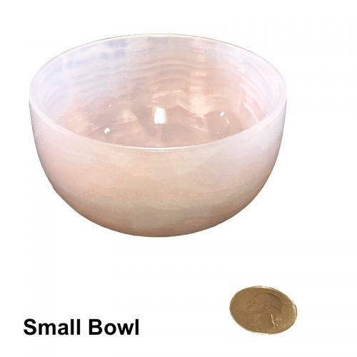 Pink Calcite Bowl - Small