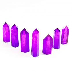 Purple Standing Quartz Points
