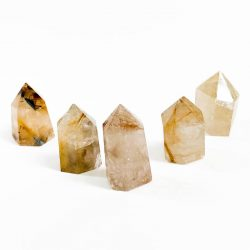 Golden Rutilated Quartz Point