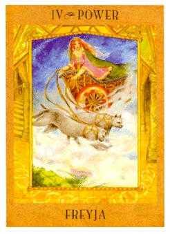 Goddess Tarot Freya Card
