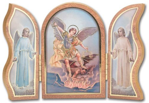 Archangel Michael Triptych