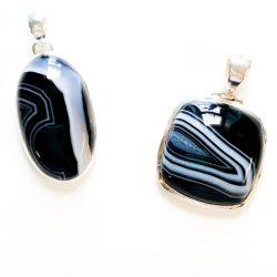 Black Agate Pendant
