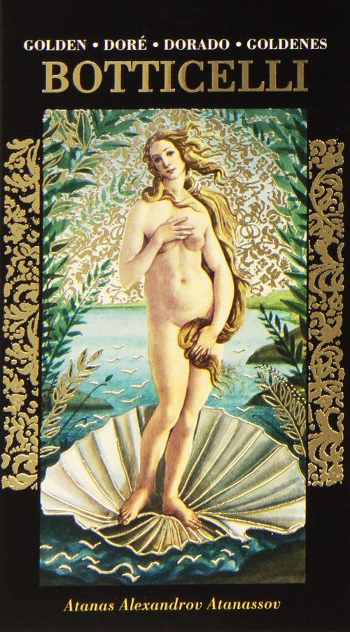 Golden Botticelli Tarot cover