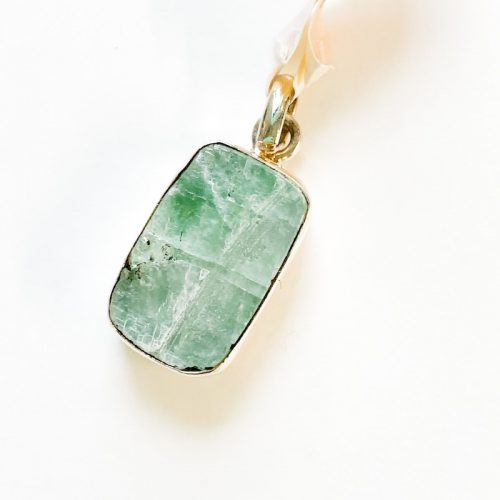 Green Calcite Pendant