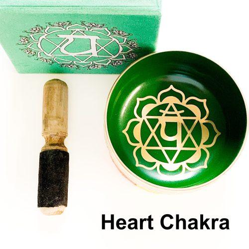Heart Chakra Tibetan Singing Bowl