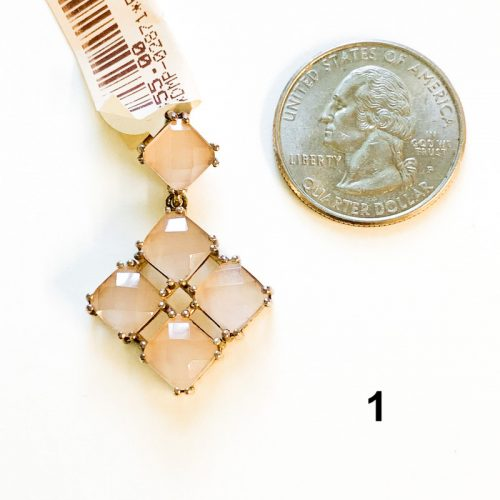Pink Chalcedony Pendant