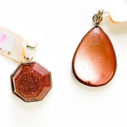 Red Goldstone Pendant