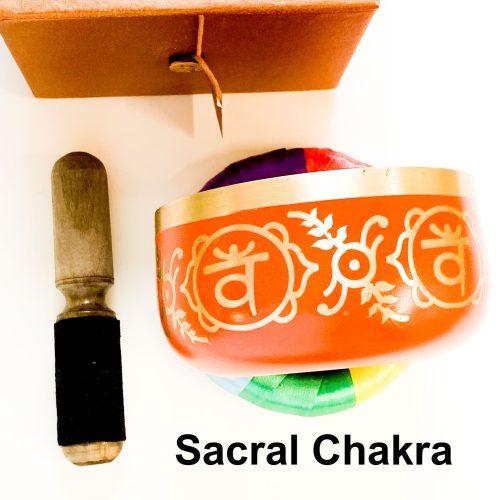 Sacral Chakra Tibetan Singing Bowl