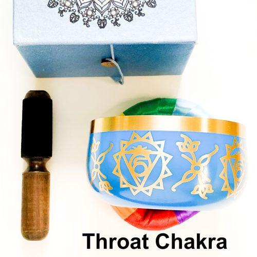 Throat Chakra Tibetan Singing Bowl