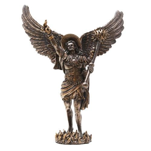 Archangel Uriel Statue Bronze
