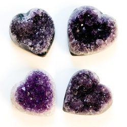 Amethyst Heart Cluster