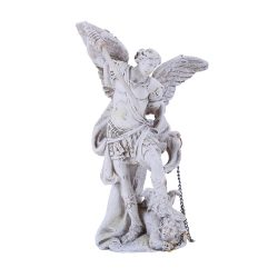 Archangel Michael Statue Small White