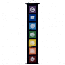 Chakra Banner with Flags