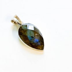 Labradorite Faceted Pendant