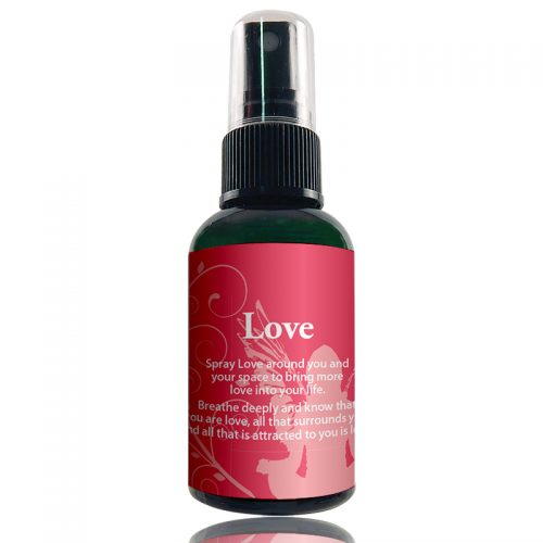 Love Aromatherapy Room Spray by The Crystal Garden Brand