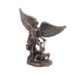 Archangel Michael Statue Bronze small