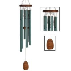 Pachelbel Cannon in D Green Wind Chime