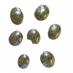 Pyrite Palm Stone