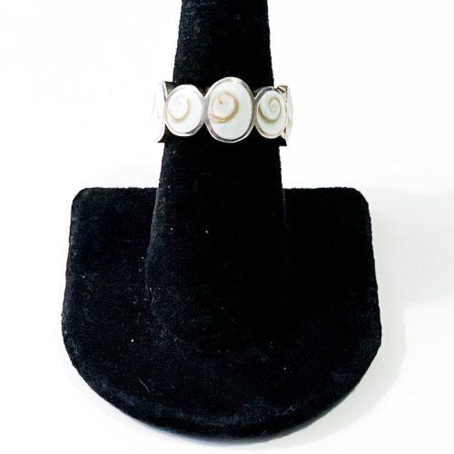Shiva Eye Shell Size 7 Ring