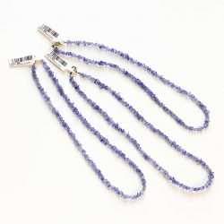 Tanzanite Chip Necklace