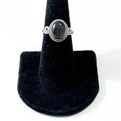 Tourmalinated Quartz Size 7 Ring