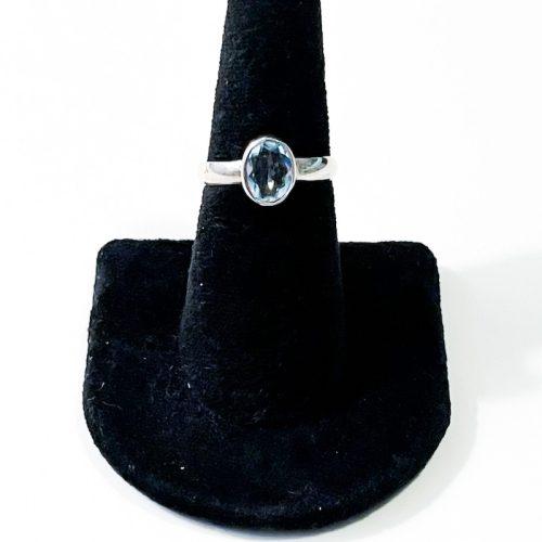 Blue Topaz Size 7 Ring