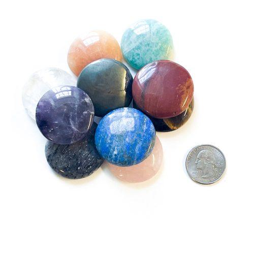 Chakra Gemstone Cabochon Set Stones