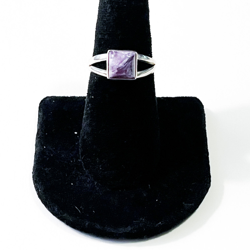 Charoite Ring – Size 7