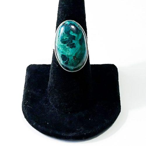 Chrysocolla Size 7 Ring