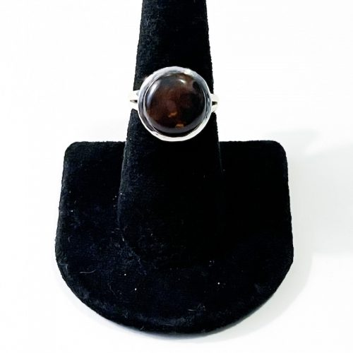 Fire Agate Size 7 Ring