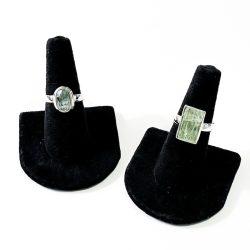 Green Kyanite Ring