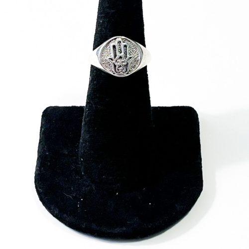 Hamsa Hand Size 7 Ring
