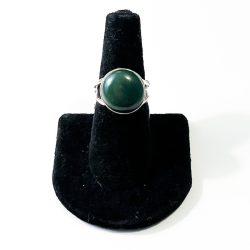 Jade Size 7 Ring