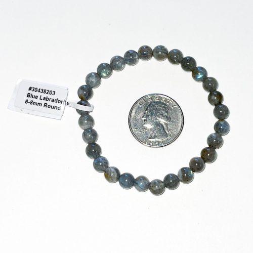 Labradorite 6 mm Bracelet
