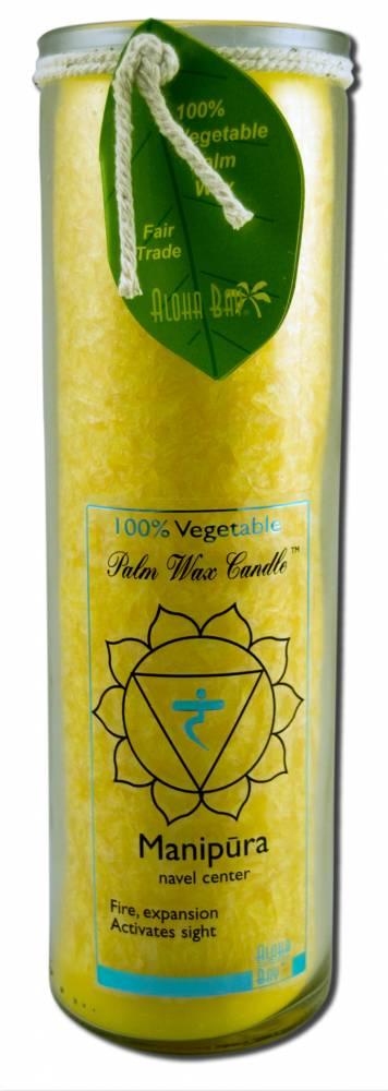 Chakra Yellow Manipura Candle