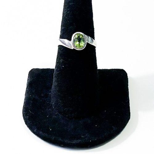 Peridot Size 7 Ring