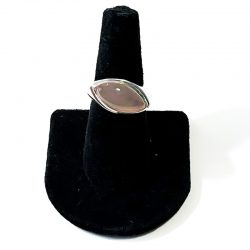 Pink Calcedony Size 7 Ring