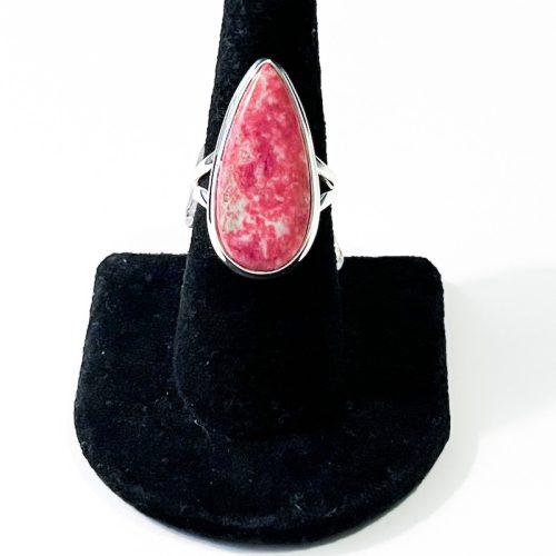 Pink Thulite Size 7 Ring