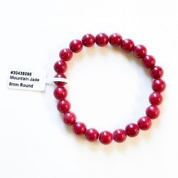 Red Mountain Jade Bracelet