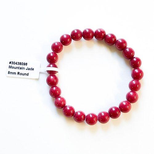 Red Mountain Jade Bracelet