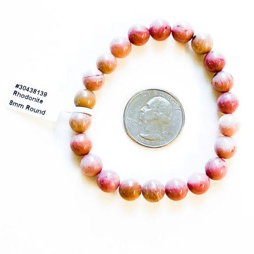 Rhodonite Nugget Bracelet w