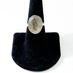 Rutilated Quartz Size 7 Ring