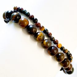 Tri Colored Tiger Eye Bracelet Cover Photo