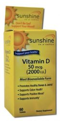 Sunshine in a Tablet Vitamin D