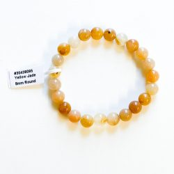 Yellow Jade 8 mm Bracelet